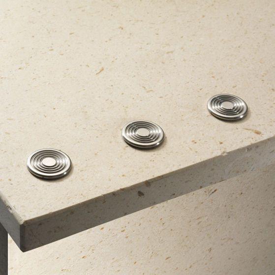 Stainless steel tactile stud STAIRTEC SWR PROFILITEC
