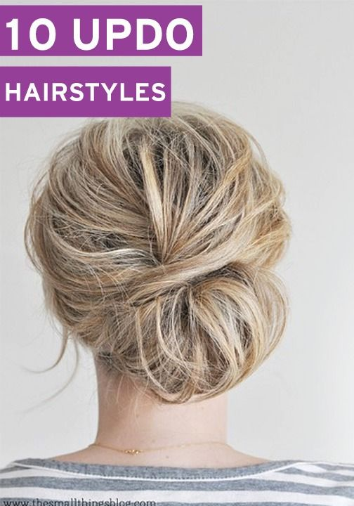 These updos are perfect for absolutely any occasion!