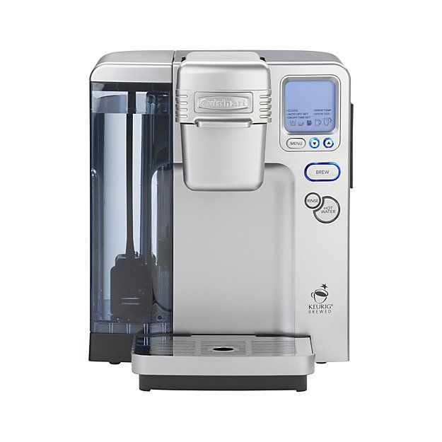 Cuisinart ® Single Serve Coffee Maker | Kurieg | I absolutely love this single serve coffee pot... its programmable... which I love... our other one wasn't. Nice addition to our kitchen!! ♡
