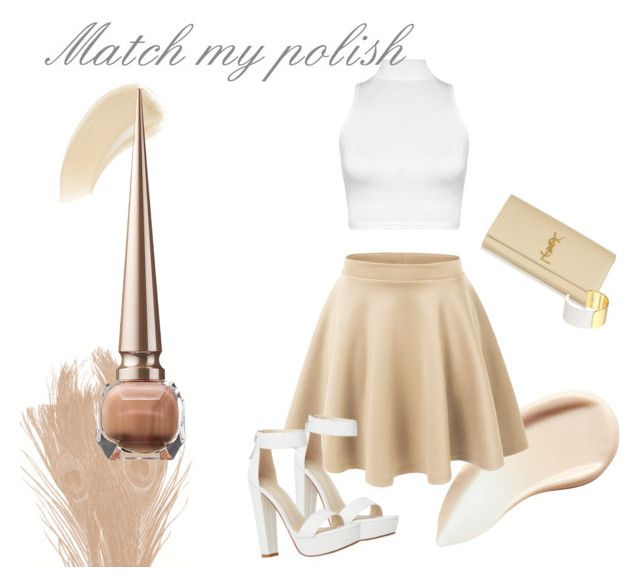 """Match my polish - nude"" by michellewl on Polyvore"