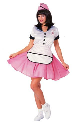 Soda Pop Girl 50's Costume