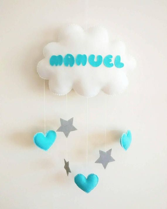 Check out this item in my Etsy shop https://www.etsy.com/listing/584382934/baby-mobile-baby-initialname-mobile