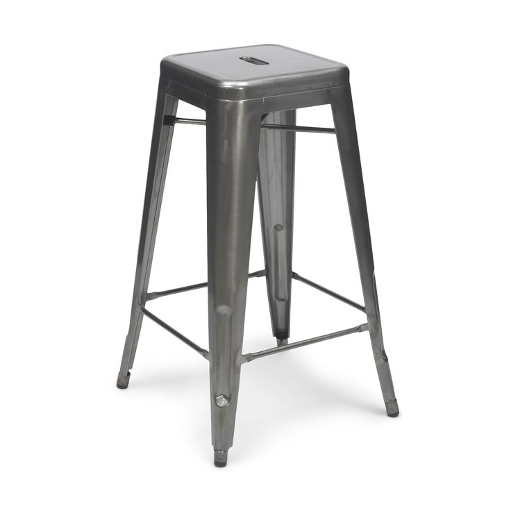 Metal Counter Stool, Pink Eclectic Bar Stools And Counter Stools
