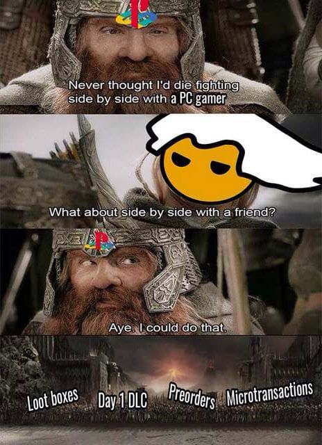 Unite Against The Common Enemy via reddit