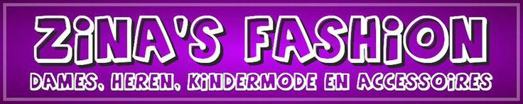 Wij bieden een ruime keuze in Trendy Dames, Heren, Kindermode en accessoires.Ook verkopen wij schoenen, tassen, sieraden en riemen.Dit alles tegen zeer aantrekkelijke prijzen en GRATIS VERZENDING vanaf 75 euro. Neem eens een kijkje in onze Webshop www.zinasfashion.nl er is voor iedereen wel wat leuks te vinden van jong tot oud.Wij hopen u snel te verwelkomen bij Zinas Fashion.