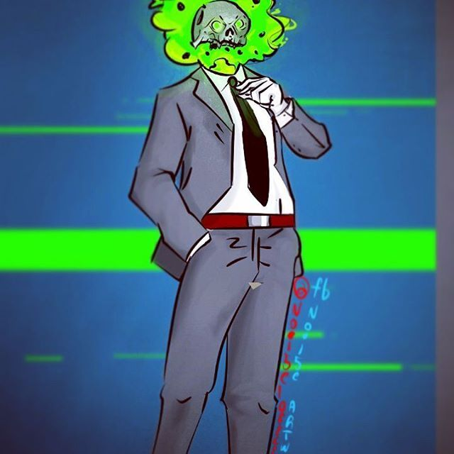 "The devil wears prada, working on this OC ""Greenhead"" or whatever u like to name it, everyday loving a bit more the medibang app draw #drawing #inkandpen #picoftheday #drawingoftheday #drawingart #drawingartist #art #arte #artwork #disney #instadraw #instadrawing #instaarte #artista #skull #skeletons #manga #instadibujo #instadibujos #instalike #instagram #instachile #videogameaddict #horrorfan  #nintendo #medibang #digitalart #digital #digitaldraw @drawin.references @artofdrawingg..."