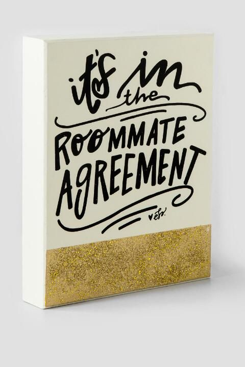 Best Roommate Agreements Images On   Roommate