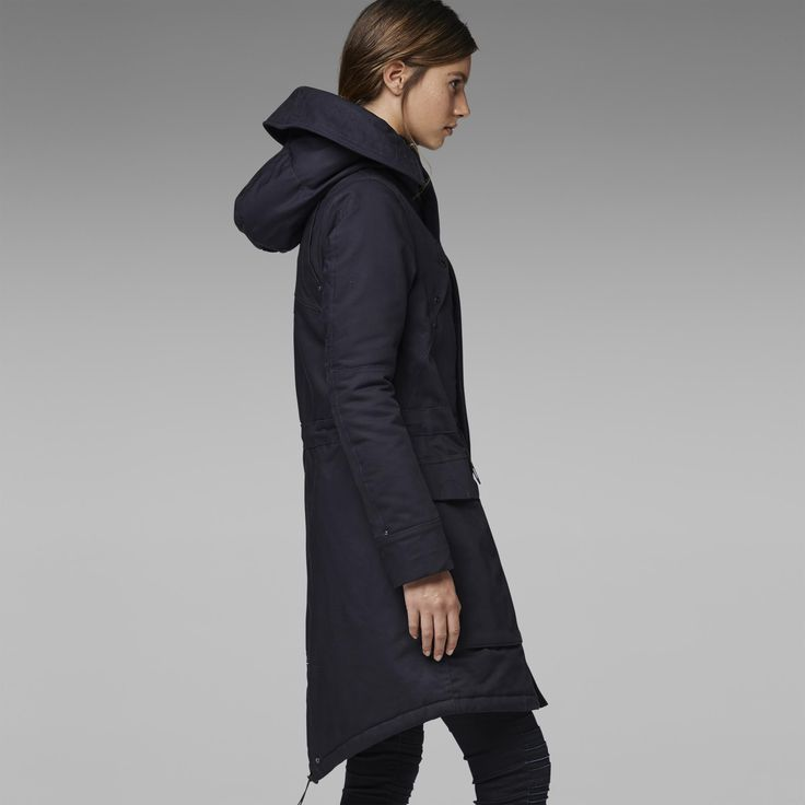 G-Star RAW | Women | Jackets-coats | Duty Relax Parka , Mazarine Blue