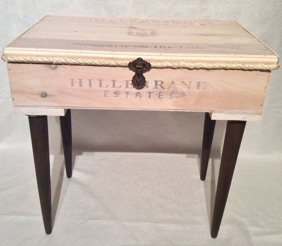 The Carter remodelled wine crate by VictorianRehabDesign on Etsy