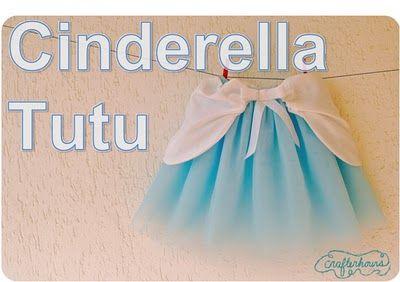 Cinderella tutu tutorial  @Rebekah Sisco Costley you so need to make this for Abigail!!!
