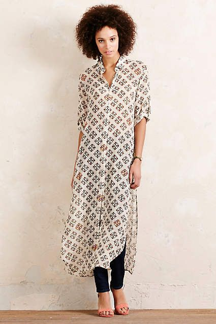 Joyelle Mosaic Dress - anthropologie.eu