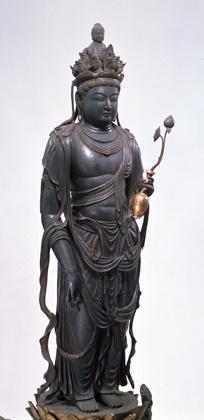 Japanese National Treasure, Statue of eleven-faced Kannon Bosatsu 十一面観音菩薩(道明寺)