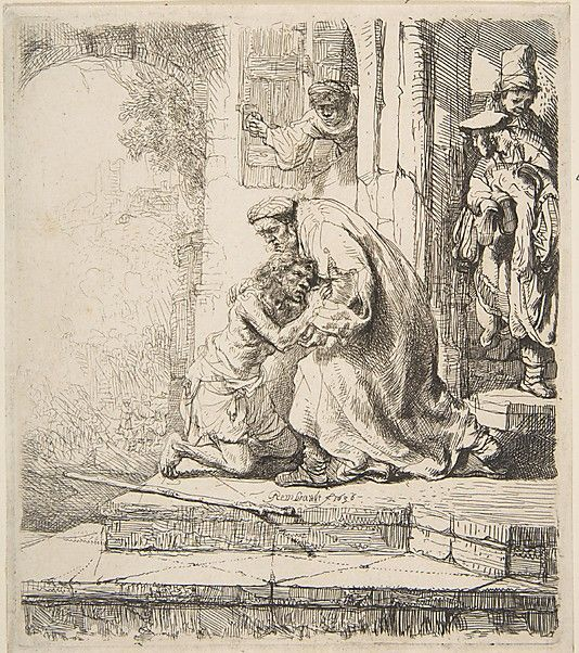 Return of the Prodigal Son Rembrandt (Rembrandt van Rijn)  (Dutch, Leiden 1606–1669 Amsterdam)