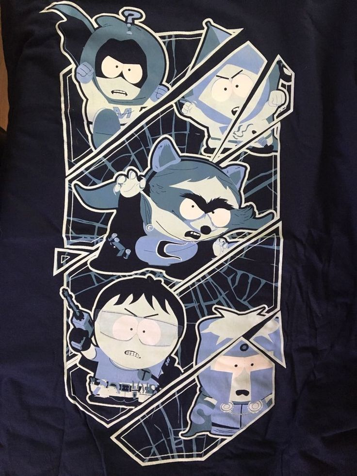 South Park THE FRACTURED BUT WHOLE Men's  Large T-Shirt Geek Fuel Exclusive New  | eBay