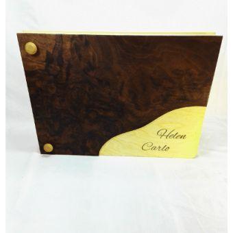 Album di nozze in legno - shop Artamin