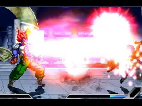 DBZ Games - Android 13 & Android 18 vs Trunks With Sword & Krillin - HD