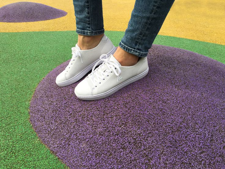Sneakers femme - Lacoste Showcourt Lace