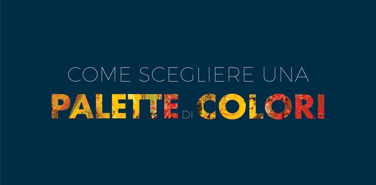Come scegliere una palette di colori