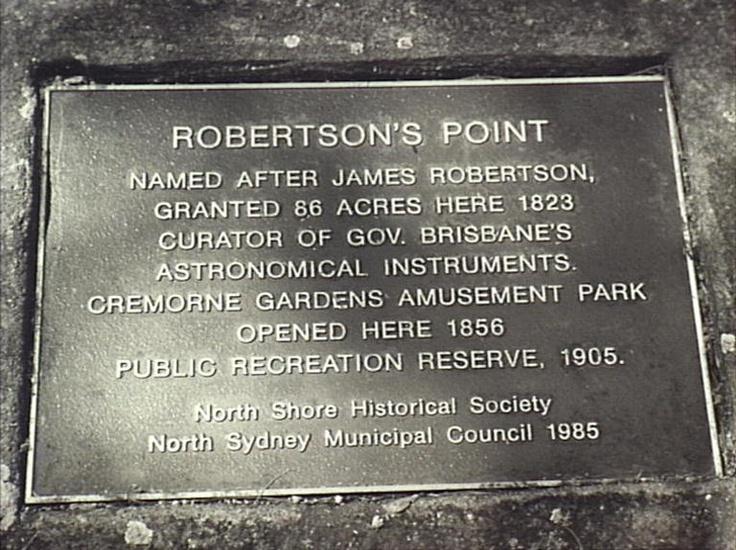 Plaque commemorating the Gardens
