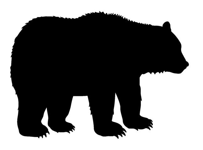 Bear Silhouette 2