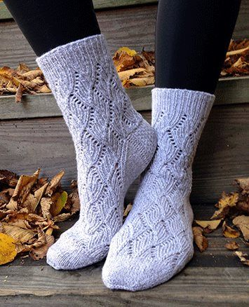 Silver Socks - Inside e-Knitting Magazines - Blogs - Knitting Daily
