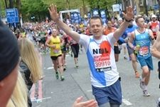 Neil Fraser running the Virgin Money #LondonMarathon as part of the HEARTUK team.If you are interested to apply for one of our charity places in the London Marathon you can register your interest, details here https://heartuk.org.uk/get-involved/fundraising/events-challenges/virgin-london-marathon-2014