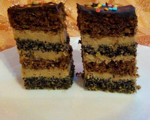 Торт Маково-горіховий з кавовою ноткою   DreamFood