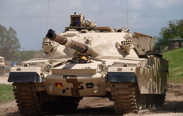Photo wallpaper MBT 2000, «Al-Khalid», combat, tank