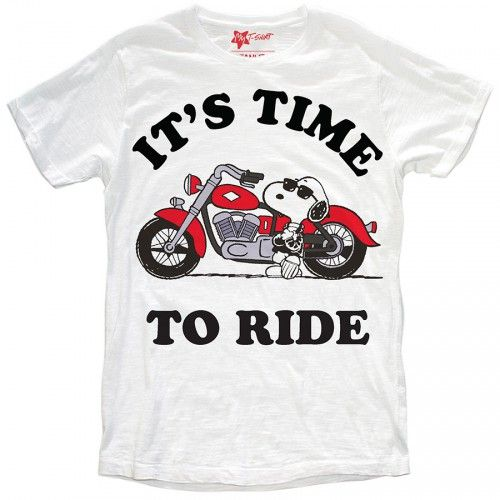 "T-SHIRT BIMBO ""TIME TO RIDE"""