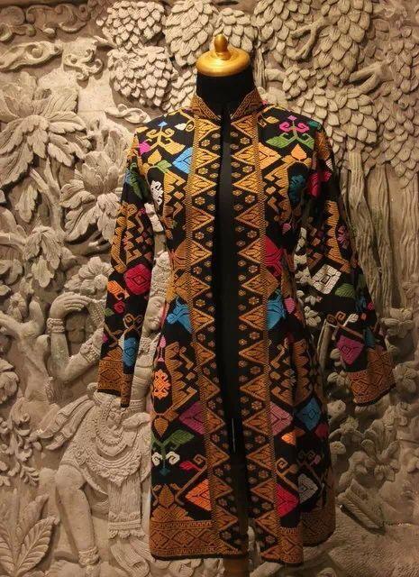 Overcoat Tenun from Bali