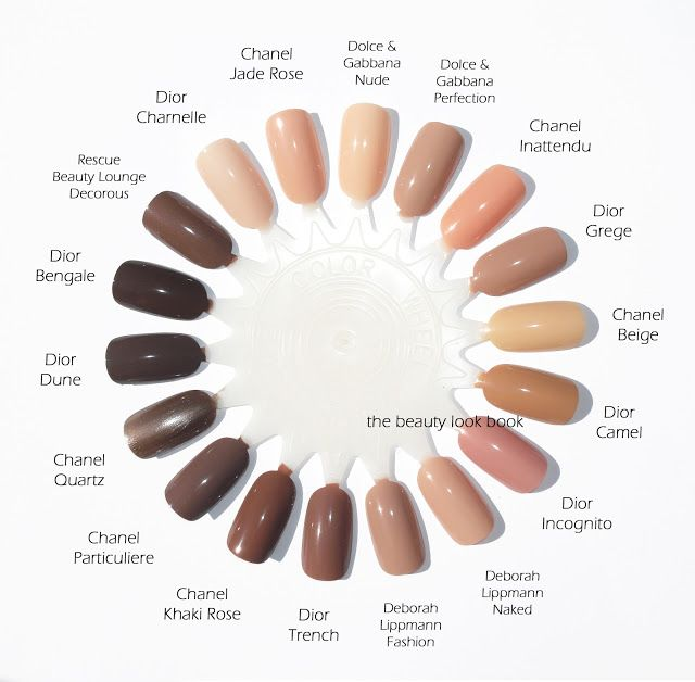 The Beauty Look Book: Dior Vernis: Nudes in Charnelle, Grège, Trench and Dune