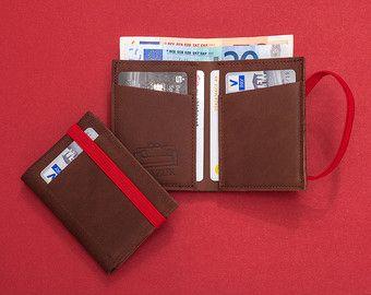 Portafoglio in pelle da uomo minimalista portafogli in di Gazur