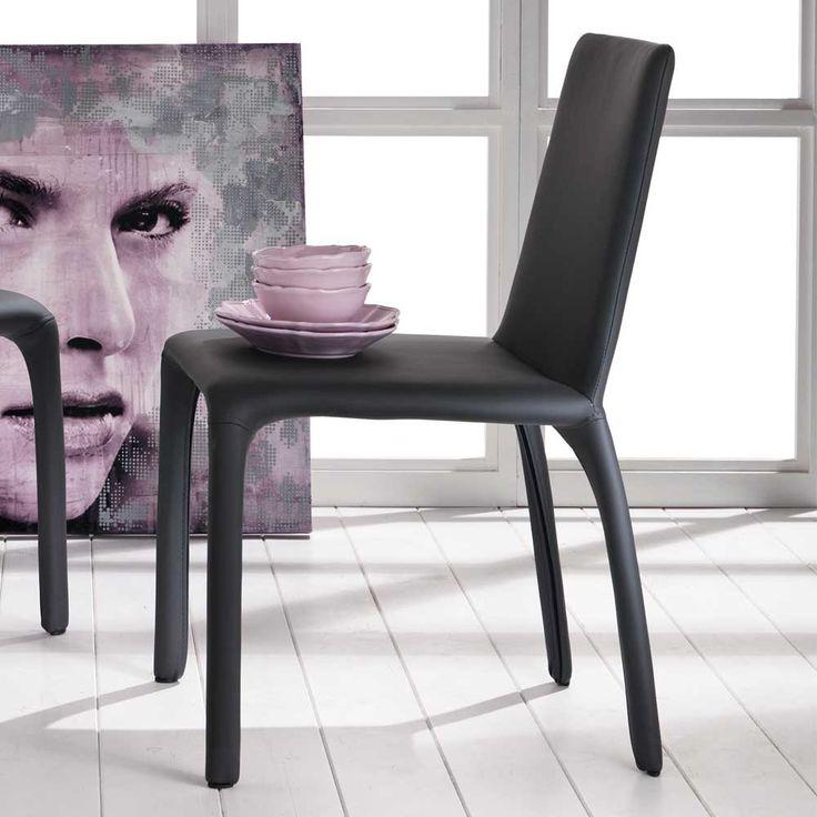 Schön Stuhl In Dunkelgrau Kunstleder (2er Set) Jetzt Bestellen Unter: Https:// Moebel.ladendirekt.de/kueche Und Esszimmer/stuehle Und Hocker/esszimmerstuehle/?uidu003d  ...