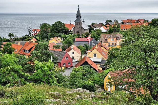 Gudhjem, Bornholm, Denmark