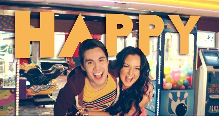 Happy (Pharrell) - Sam Tsui & Sariah COVER http://youtu.be/suo8N2Uf2bg
