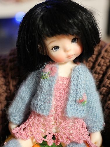 doll colth / doll dress / doll knitting / Heavenly kids