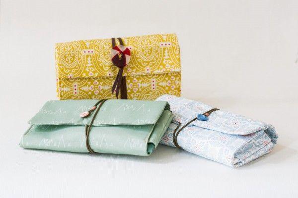 free sewing tutorial - Wallet kostenlose Anleitung inkll. Schnittmuster für diese tolle Geldbörse