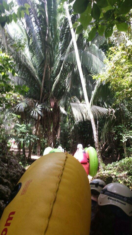 Belize Cave tubing via Carnival excursions