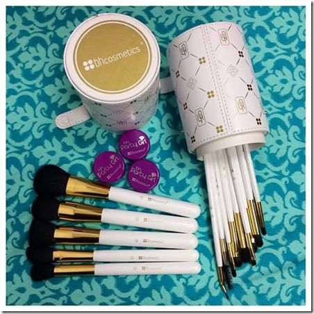 Enter to WIN the BH Cosmetics Brush Set and Party Girl Loose Pigment Eyeshadows -- ends 12/08/14. A weekly Facebook Giveaway! This week five lucky winners will win the new 14pc. Signature Brush Set and 3 Party Girl Loose Pigment Eyeshadows of your choice and color. Details here.