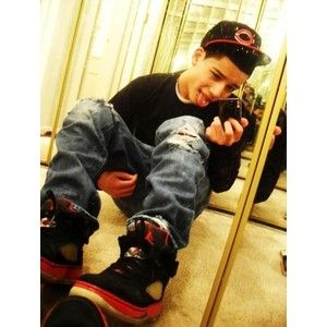 Cute Mexican Boys with Swag