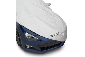 #BRZ Car Cover. Helps protect the exterior of your vehicle. Made of lightweight breathable material. MSRP: $139.00 #subaru #parts #accessories