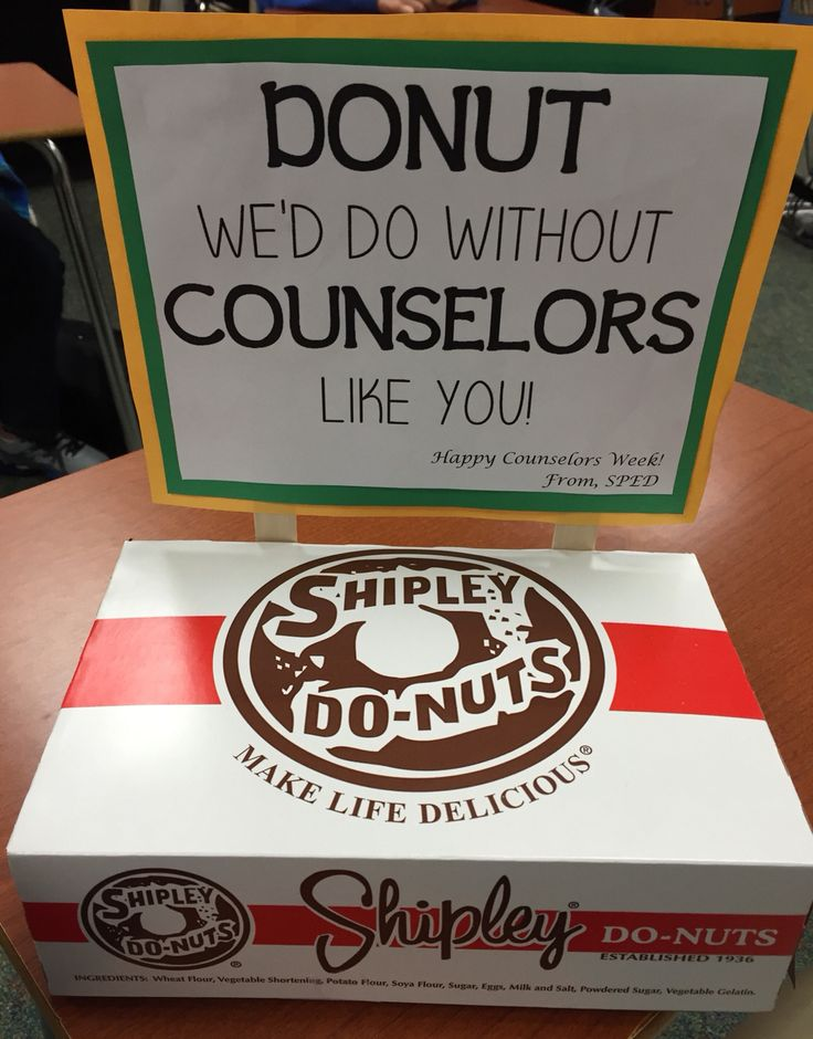 Gave these as a gift for  National Counselors Week ....