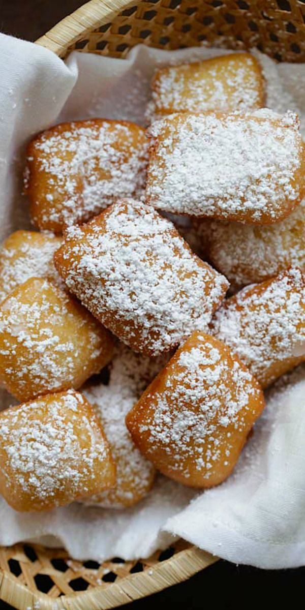 Soft, pillowy and the best New Orleans beignets recipe ever. This recipe is fail-proof, anyone can make it   http://rasamalaysia.com