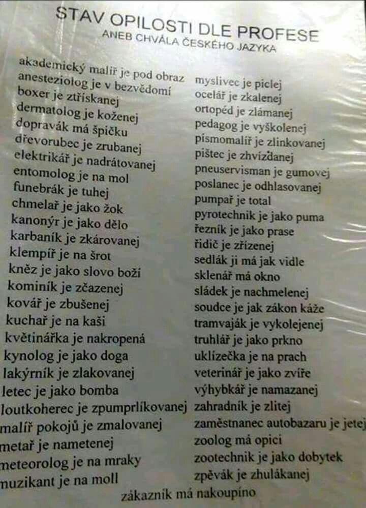 Pin Uzivatele Ladislava Jelinkova Na Nastence Vtipne Hlasky Funny