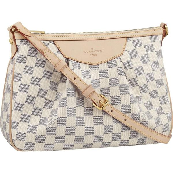 a2738d34147fc Discover ideas about Street Style Store. May 2019. Siracusa PM Damier Azur  Canvas ...