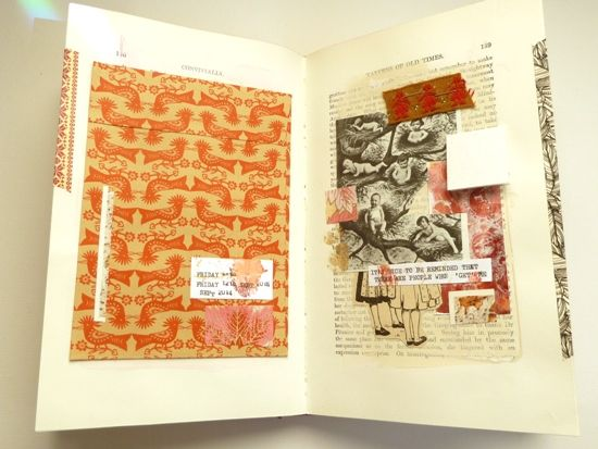 Collage by Julie Kirk.  'Fortune & Geese Favour the Bold' Part 3
