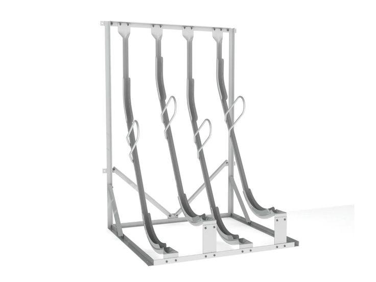 Semi Vertical Bike Rack | Cyclehoop
