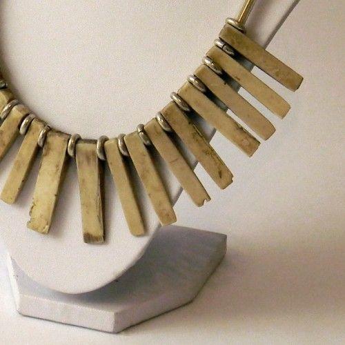 Collar de Plata Tienda:Mestiza Modelo: Rayos Precio: $89.345  Ver aquí: http://bit.ly/1deBcyH