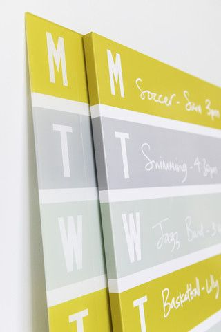 Magnetic v Acrylic Chart Boards – Chart Noticeboards