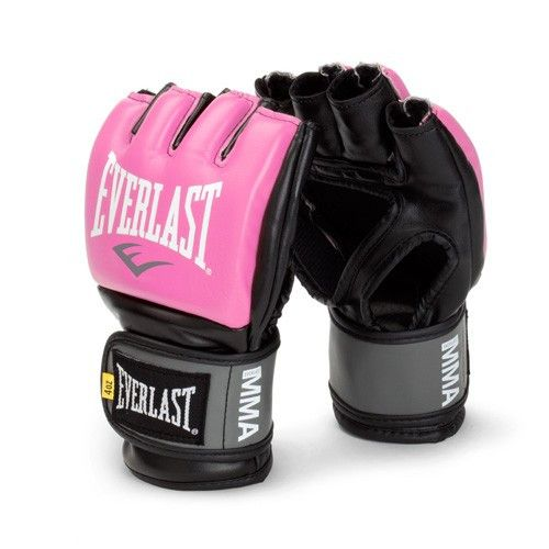 Everlast Pro Style Grappling MMA Gloves - Small/Medium - Pink